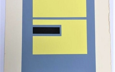 Josef Albers, Serigraph, The Interaction of Color