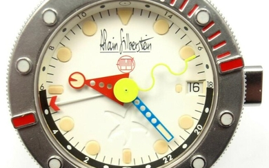 LIMITED EDITION ALAIN SILBERSTEIN MARINE GMT AUTOMATIC