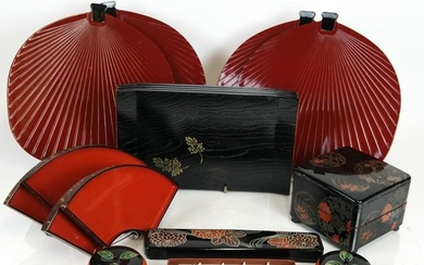 Lot of Japanese Lacquerware, Others (17)