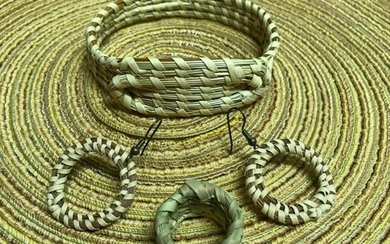 Lowcountry Charleston Sweetgrass Woven Bracelet