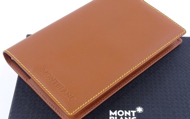 """MONT BLANC - a Diaries & Notes """"Mind Notes"""" chocolate tanned..."""