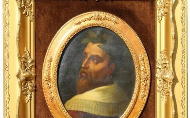 Old Master Style, Portrait of a Man Painting