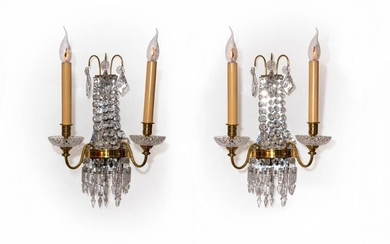 PAIR OF 1900 STYLE SCONCES