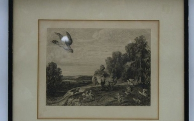 Print of Frans Snyders (1597-1657) Etching