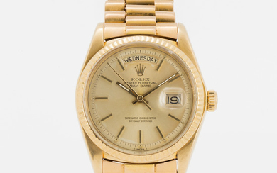 ROLEX, Oyster Perpetual, Day-Date, Chronometer, wristwatch, 36 mm