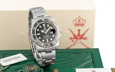 ROLEX, REF. 116610, SUBMARINER KHANJAR, MADE FOR OMAN, NEW OLD STOCK