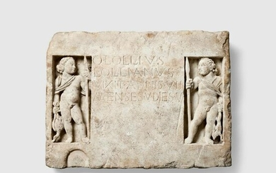 ROMAN FUNERARY RELIEF EUROPE, C. 1ST - 2ND CENTURY A.D.