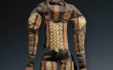 "Rare leather figure ""ikpa woro"" - Nigeria, Tiv"