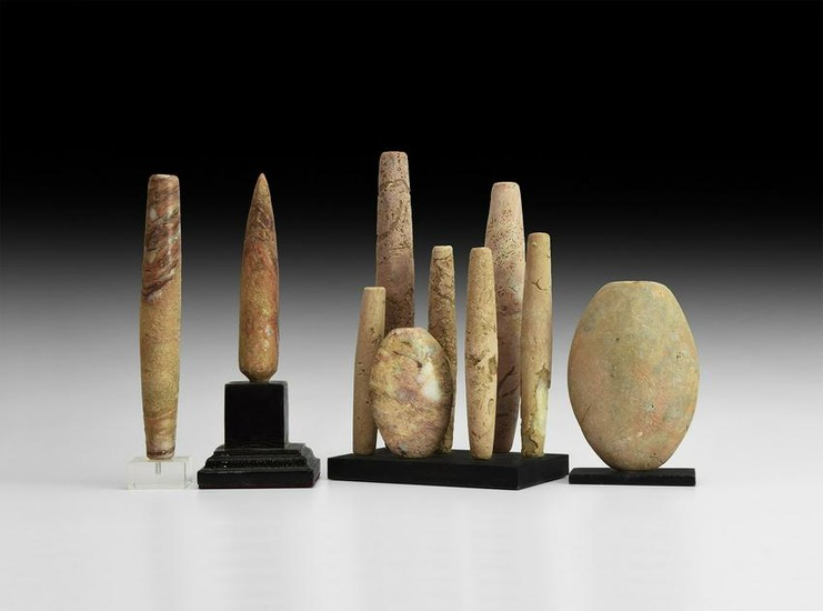 Western Asiatic Large Bead Collection