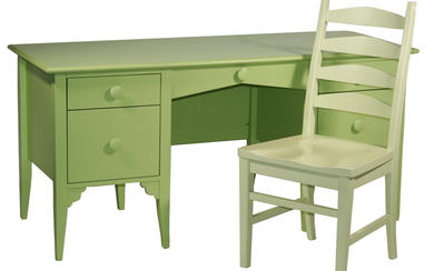 (2 PCS) MAINE COTTAGE FURNITURE DESK & CHAIR