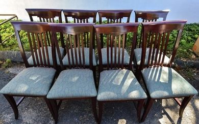 8 Craftsman Style Dining / Side Chairs