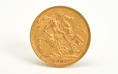 A FULL GOLD SOVEREIGN VICTORIA 1898, Melbourne mint