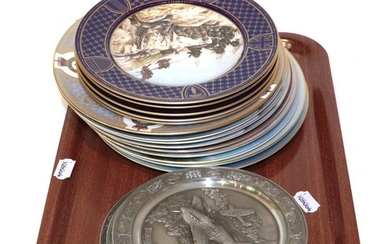 A collection of Spode 'Battle of Britain' commemorative plates; together...