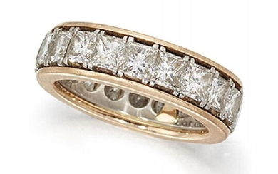 A diamond eternity ring, composed of a...