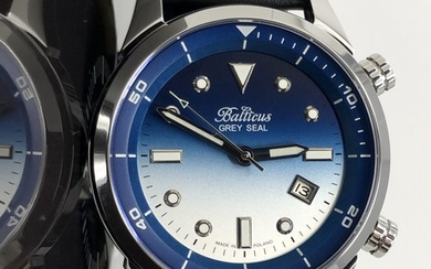 Balticus - Automatic Grey Seal Blue Dial with Date Limited Edition of 200 pieces - Seal Blue Dial - Men - 2011-present