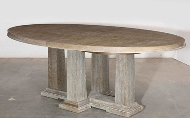 Boiler & Company Domicile Pier oval dining table