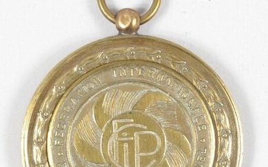 Bronze medal won by Freddy Maertens at the...