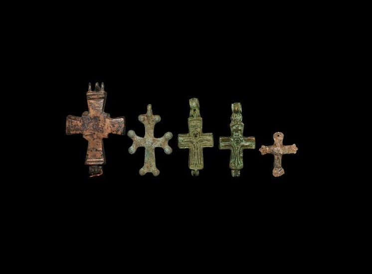 Byzantine Cross Pendant Collection