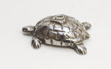CAST IRON TURTLE PAPER WEIGHT