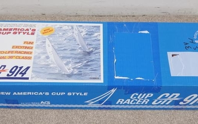 CUP RACER CR 914 RADIO CONTROLLED YACHT MODEL