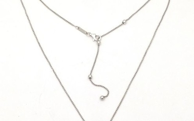 Chimento - 18 kt. White gold - Necklace with pendant - Diamonds