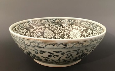 Chinese Blue-White 'Flower' Bowl
