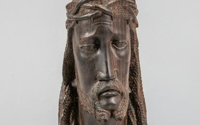 Collectible Rosewood Carved Figure of Jesus