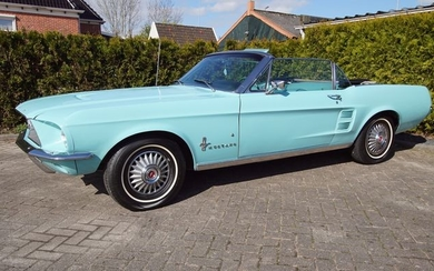 Ford - Mustang Convertible V8 Automaat - 1967