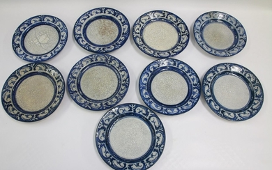 GROUP LOT OF DEDHAM POTTERY PLATES