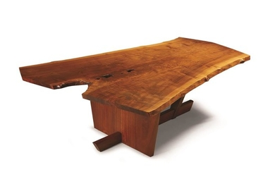 """George Nakashima (American, 1905-1990) The Important """"Holtz"""" Table, New..."""