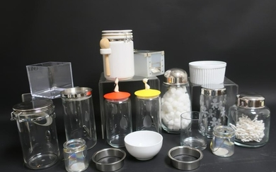 Glass, Metal & Pottery Kitchen Ware