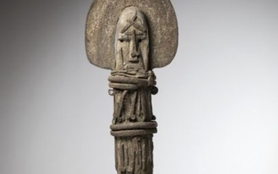 IGBO, Nigeria. This representation of Ofo with a...