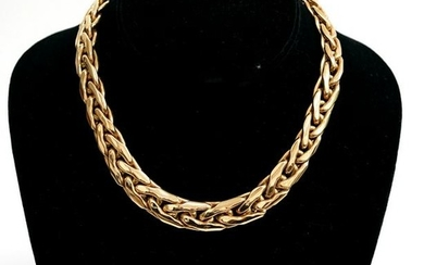 Italian 14K Yellow Gold Chain Necklace; 50.2G