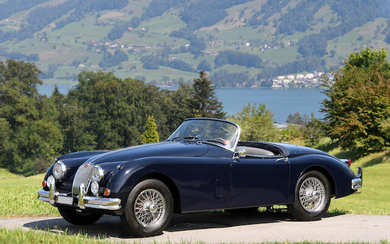Offered from The Alps to Goodwood Collection, 1959 Jaguar XK150 3.4-Litre Roadster