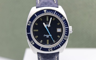 Omega - Seamaster 120 - Diver - Shadow blue dial - Big Crown - 166088 - Men - 1960-1969
