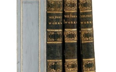 Poetical Works John Milton Folio