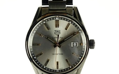 Tag Heuer Carrera wristwatch with date dial, with box