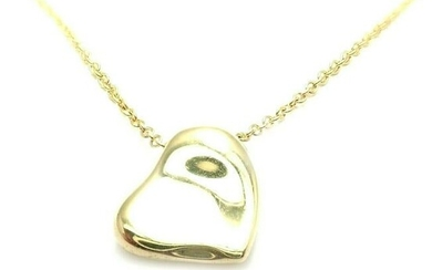 Tiffany & Co Peretti 18k Yellow Gold Puffed Curved