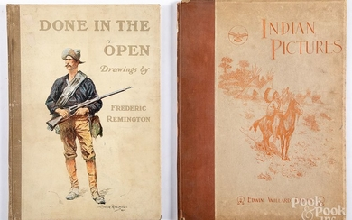 Two Native American Indian related books