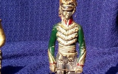 toy soldier (6) - .800 silver - Italy - Second half 20th century