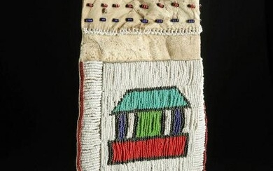 1950's African Ndebele Beaded Leather Loincloth