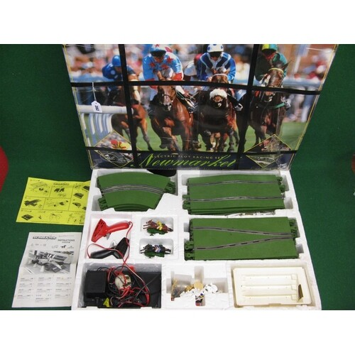 1991 Scalextric Limited Edition Newmarket Horse Racing set (...