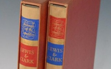 2 Volumes Lewis & Clark Books