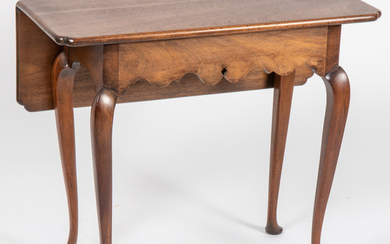 A Chippendale Style Single Drop-leaf Table