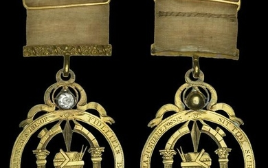 A Collection of Masonic Jewels and Medals