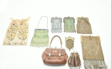 Antique Purses Including Coin Purses and an 18th
