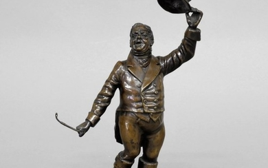 Bronze Figure of an English Fox Hunter