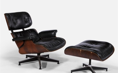 Charles and Ray Eames (American, 1907-1978 and 1912-1988) Lounge...