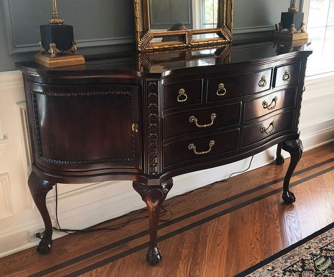 Chippendale Style Side Board, RA8A