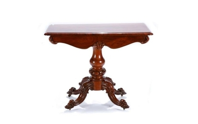 ENGLISH VICTORIAN ROSEWOOD HALL TABLE
